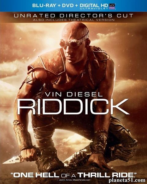 Риддик [Расширенная режиссёрская версия] / Riddick [UNRATED Director's Cut] (2013/BDRip/HDRip)