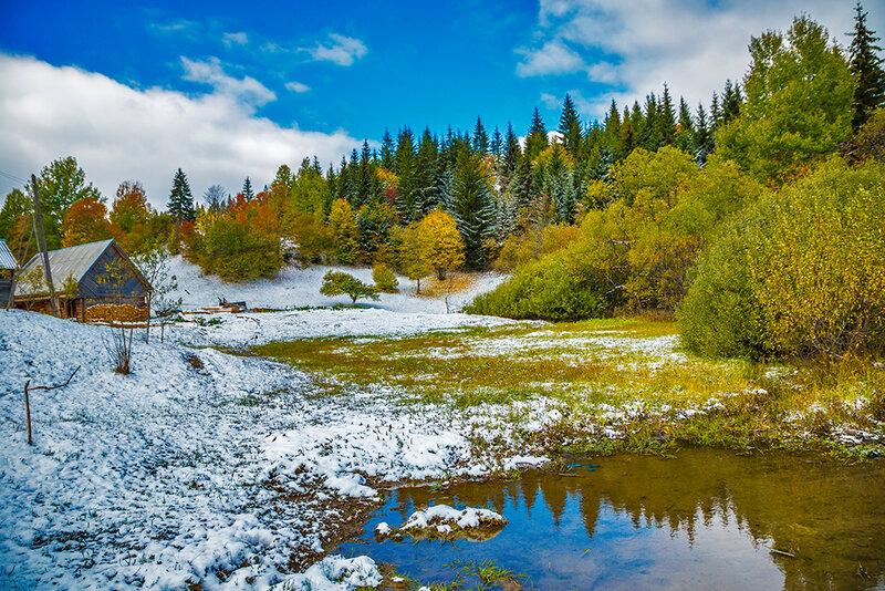Вдохните глубоко! Прекрасные пейзажи Украины