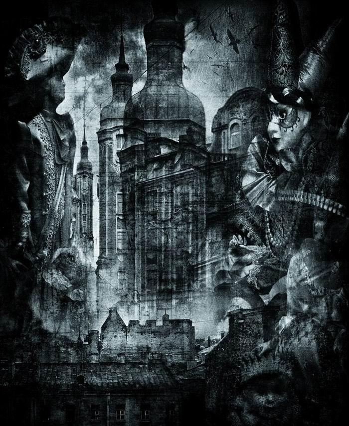 Сны большого города. Петебург в фотографике Геннадия Блохина.