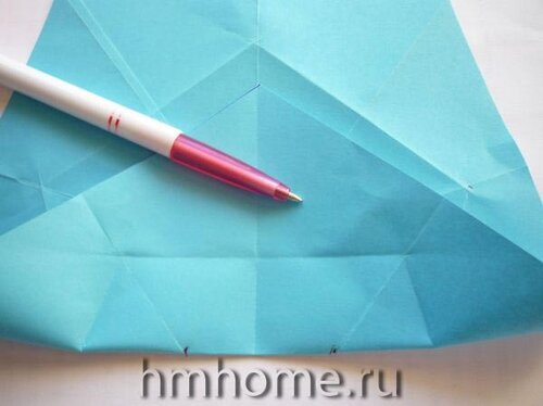 Оригами звезда Sakura Star. Мастер-класс