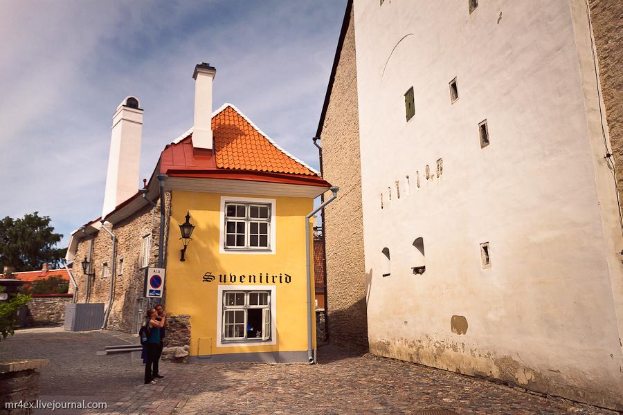 Таллин, Эстония, Старый город, Вышгород