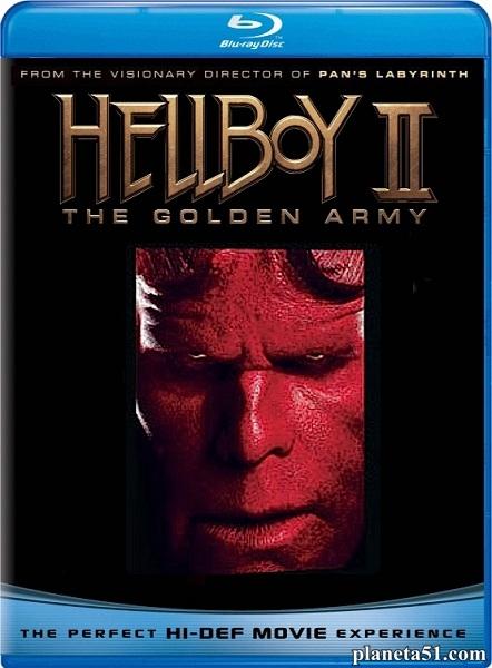 Хеллбой II: Золотая армия / Hellboy II: The Golden Army (2008/HDRip)