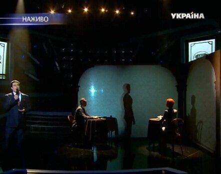 Выступление Василия Бондарчука на шоу Как две капли
