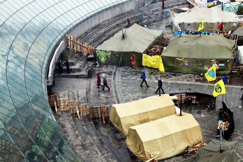 Палатки Евромайдана
