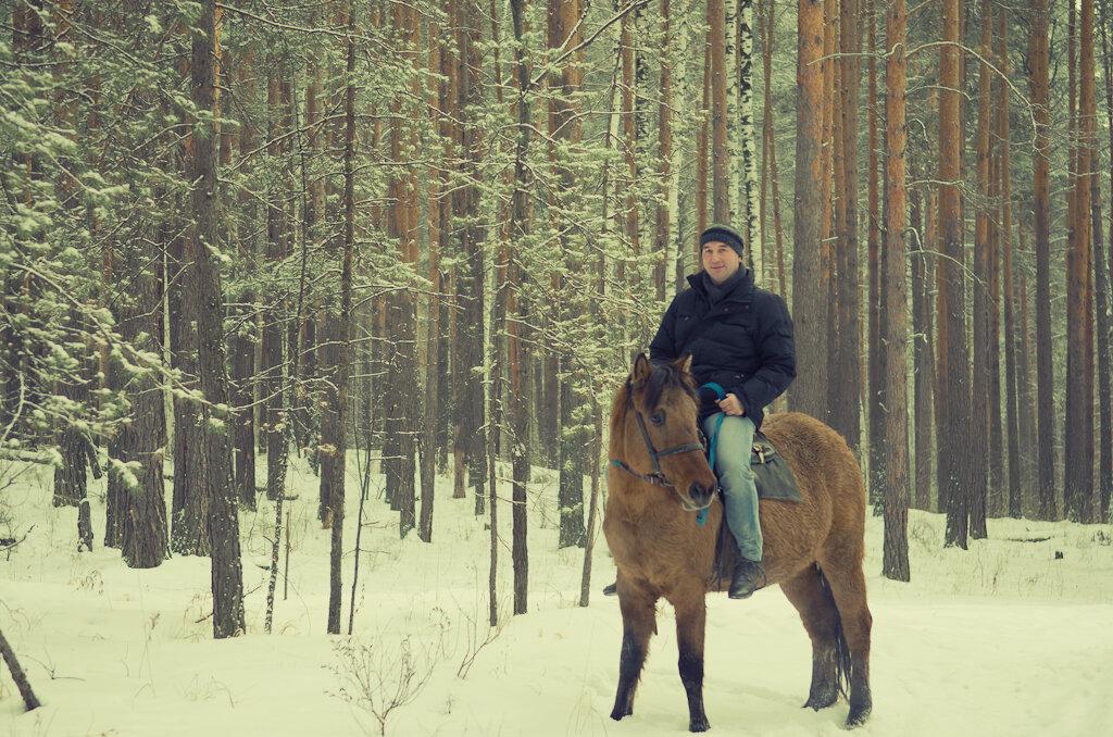 6. Конный отдых. Уральский ковбой...