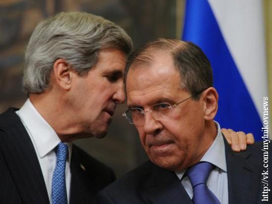 Российская делегация подарила представителю госдепа США шапку-ушанку