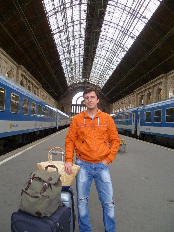 Будапешт. Вокзал Келети.