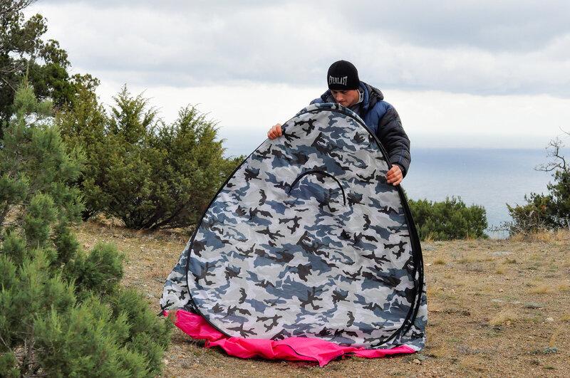 Проклятие рыбацкой палатки (её нелегко просто взять и свернуть)