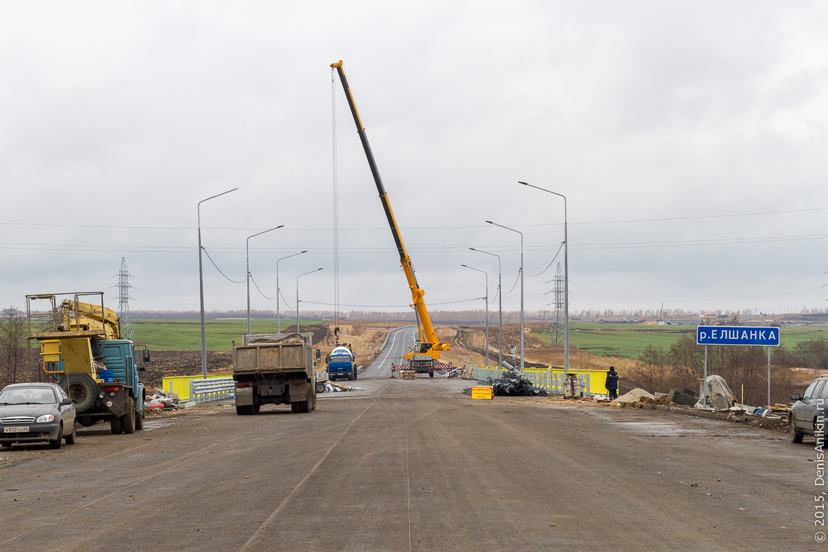 Строительство автодороги в обход Елшанки 10