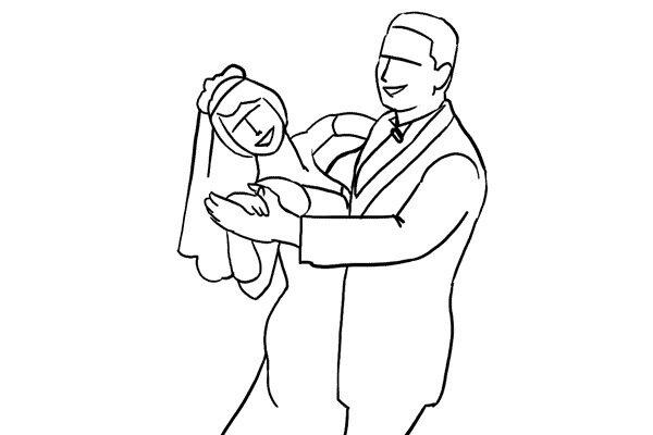 Позирование: позы для свадебной фотографии 19