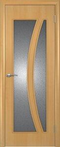 Ламинированная дверь со стеклом