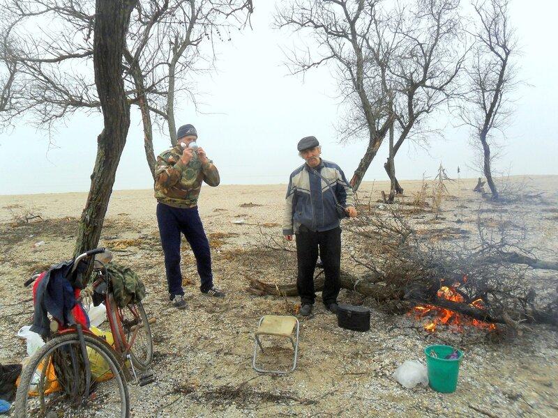 Январь, на Азовском побережье