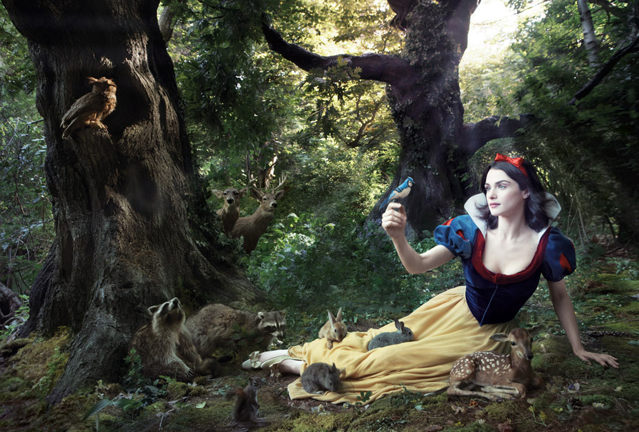 Disney's Year of a Million Dreams by Annie Leibovitz - Rachel Weisz as Snow White / Рэйчел Вайс в образе Белоснежки