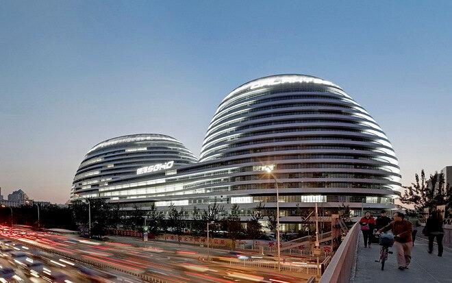 Комплекс Galaxy Sohо в Пекине