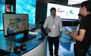 На выставке ICT Expo 2013 стенд филиала UZMOBILE