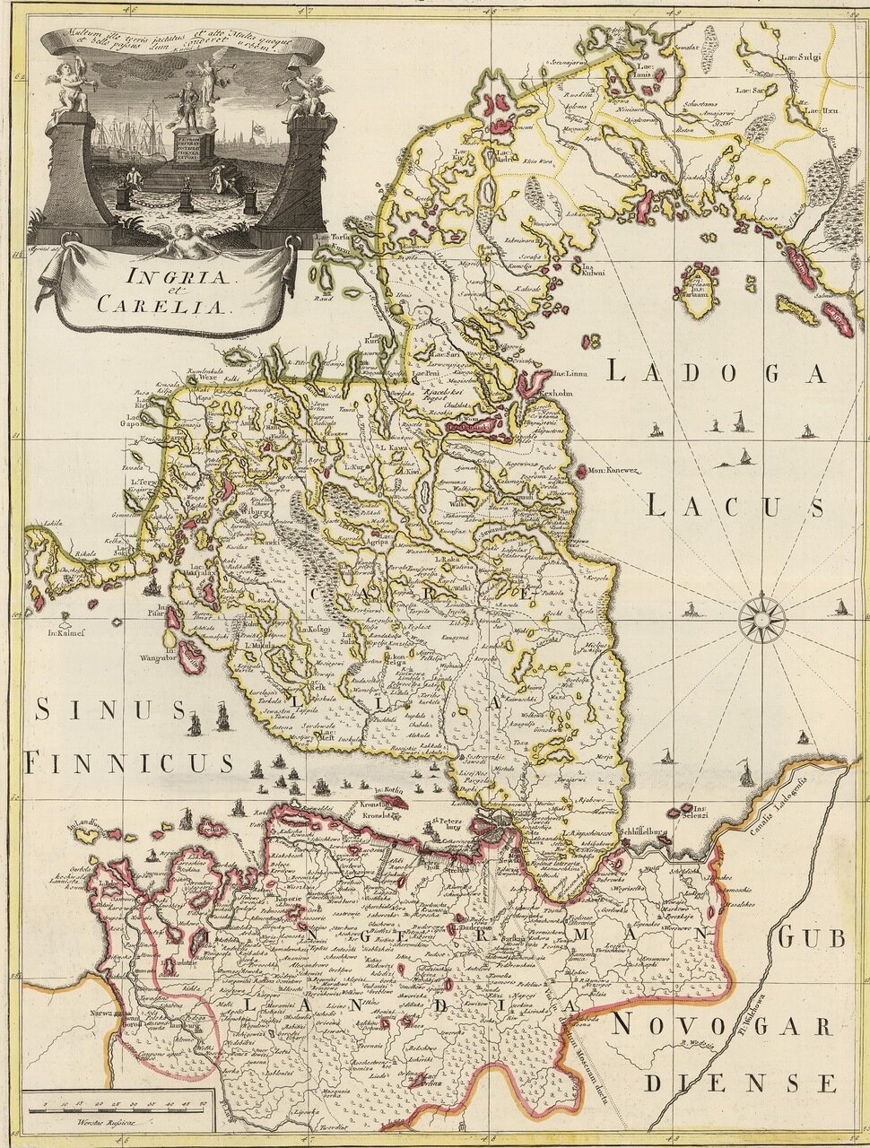 Карелия. 1741