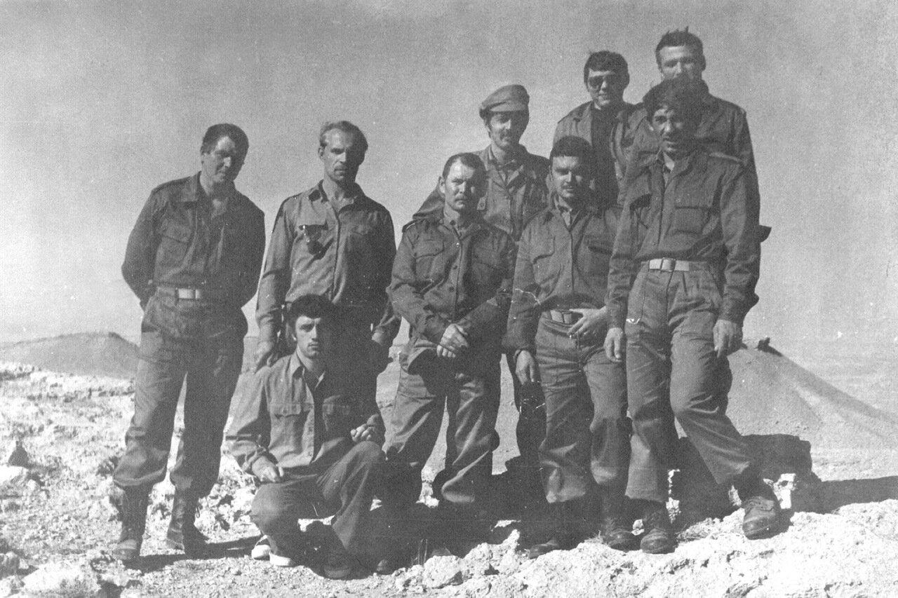 1980.Сирия. Карпов,Малов,Фомин,Кауткин,Рыжов,Букатин,Фещенко, механик
