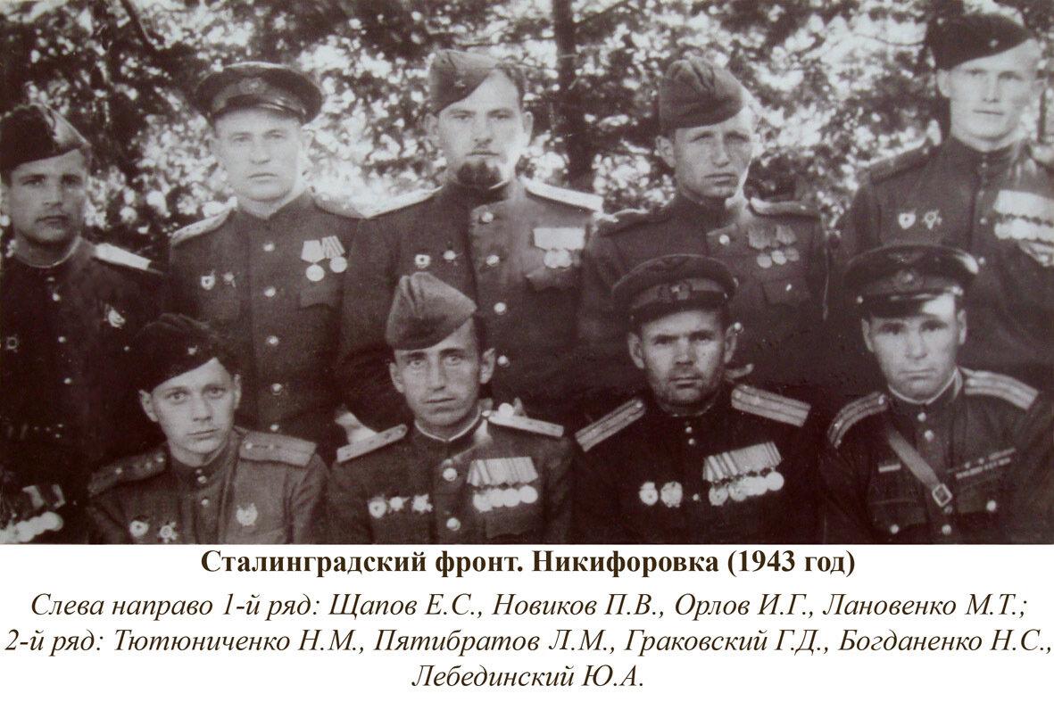 1943. Сталинградский фронт.Никифоровка