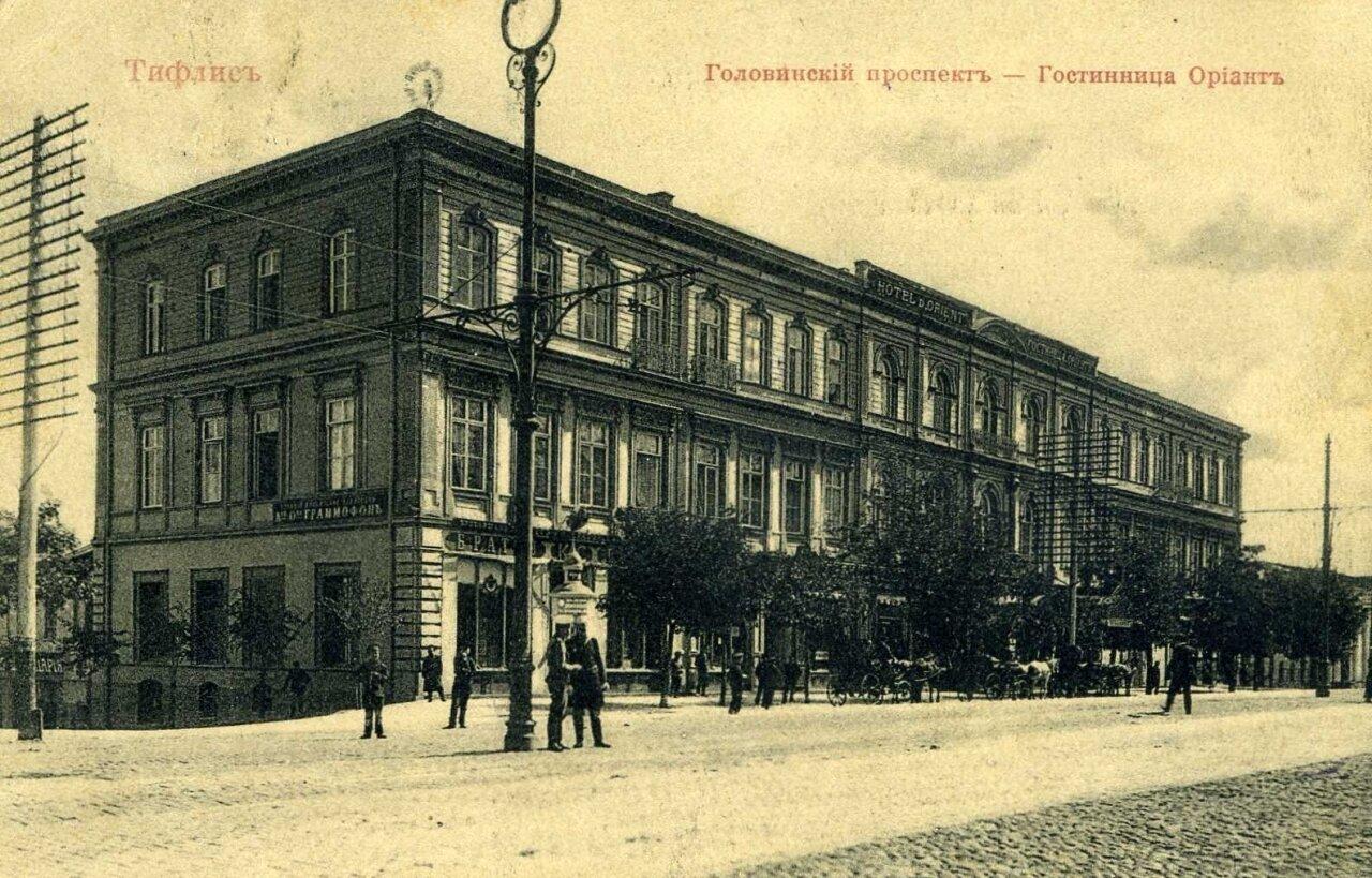 Головинский проспект.Гостиница Ориант
