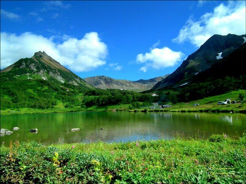 Прозрачные воды озера Такхолоч.