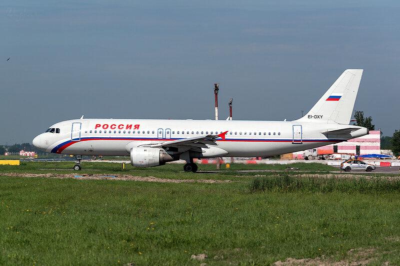 Airbus A320-212 (EI-DXY) Россия D800801