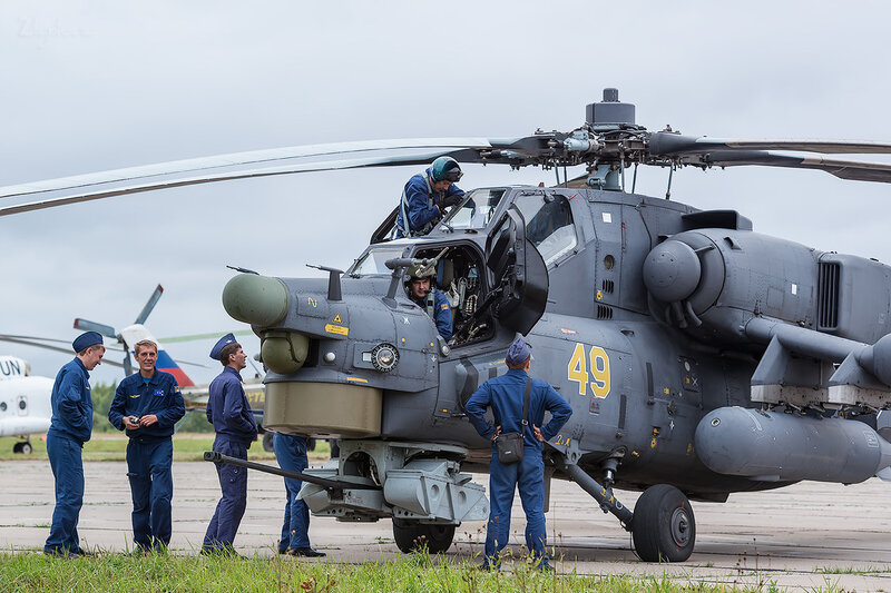 Миль Ми-28Н (RF-91089 49 жёлтый) D801823