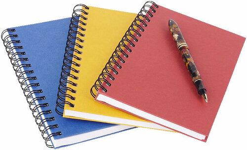 Ручка и тетради