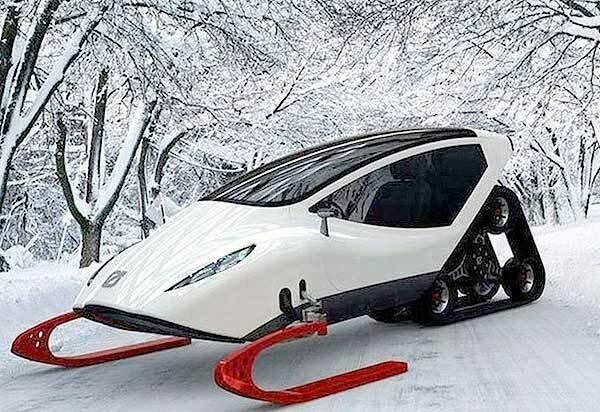 Современный снегоход
