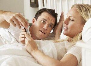 20% не расстаются со смартфонами даже во время секса