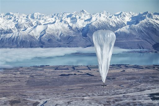 Google Internet Balloon