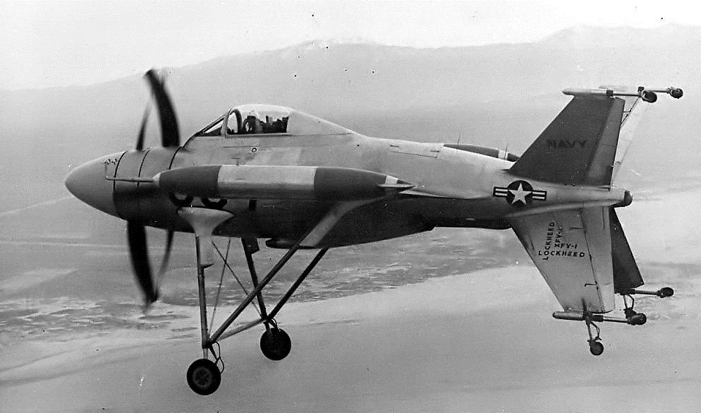Первые самолеты с вертикальным взлетом