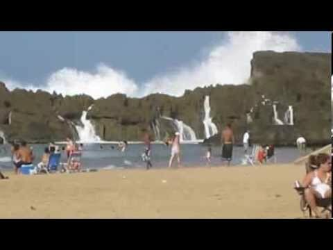 Крутой пляж в Puerto Rico