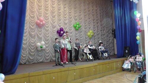 Концерт к Международному дню инвалида в детском доме ДОС