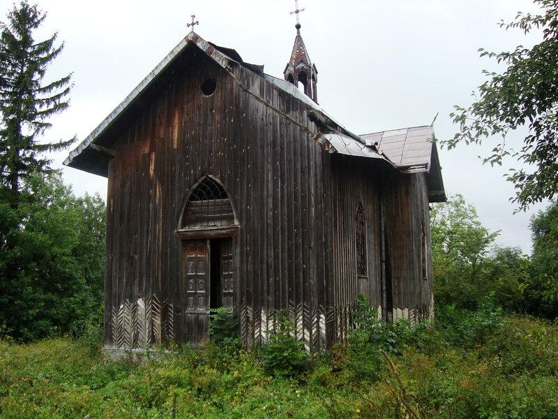 Розваж - деревянный костел