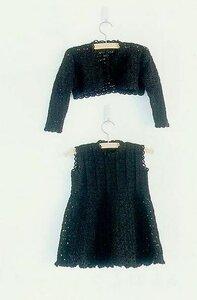 В знакомом переулке модница на прогулке (платье+болеро)