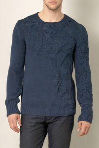 Хаос в косах - свитер-унисекс от Balenciaga