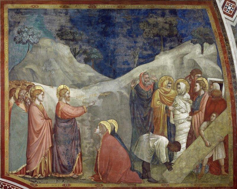 21.Воскрешение Лазаря (ок.1320).jpg