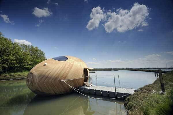 Плавучий дом - яйцо