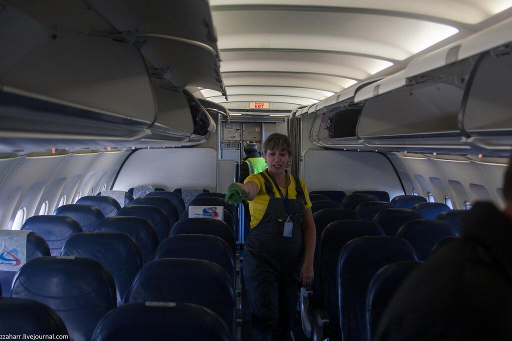 Как самолеты готовят к полету