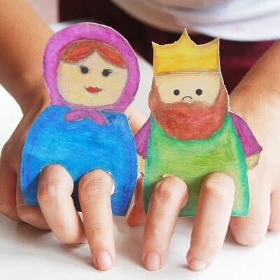 игрушки из бумаги для детей