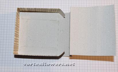 Коробочка своими руками, как упаковать цветок из ткани или кожи