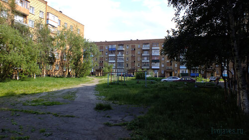 Фото города Инта №4963  Мира 21, Горького 8а и Мира 23 05.07.2013_15:34