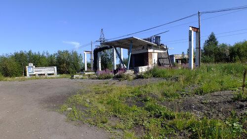Фотография Инты №5485  Главный въезд на Восточную 1 с дороги по улице Восточная (бывшая шахта
