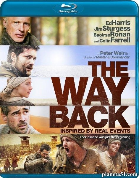 Путь домой / The Way Back (2010/BDRip/HDRip)