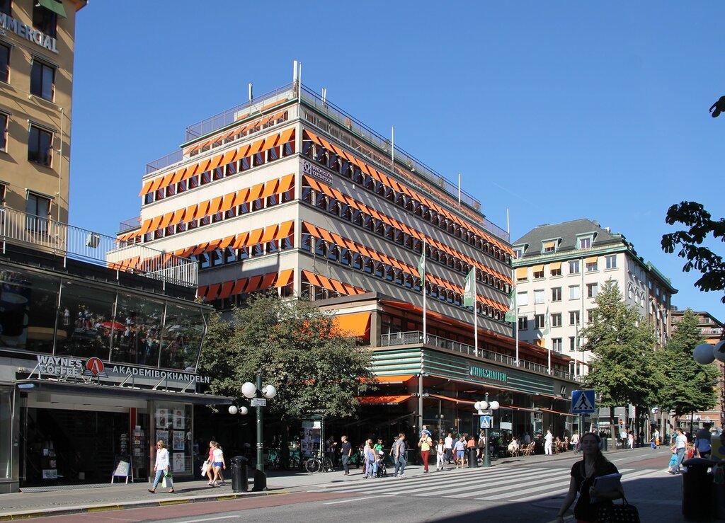 Стокгольм, Кунгсхаллен. Stockholm,Kungshallen, Королевский зал