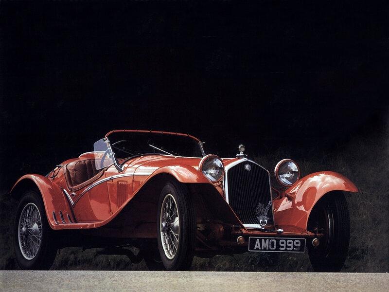 Alfa-Romeo-8C-2300-Spider-1931 - 1934