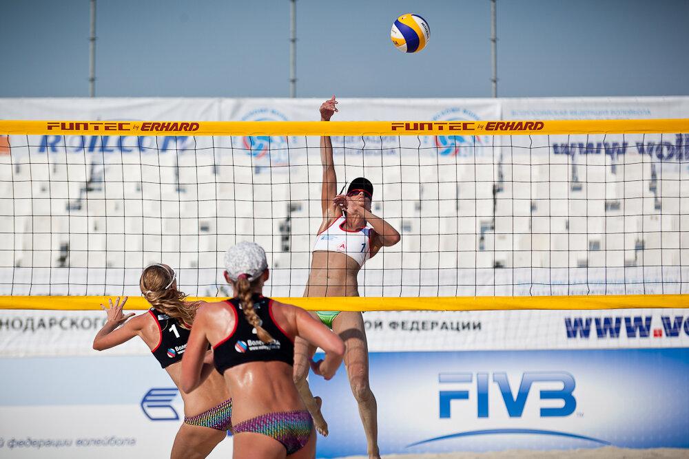 Чемпионат России по пляжному волейболу Анапа 2013