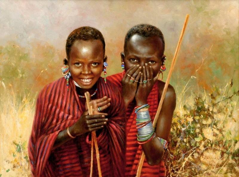 Дикая Африка. Художник Eric Forlee
