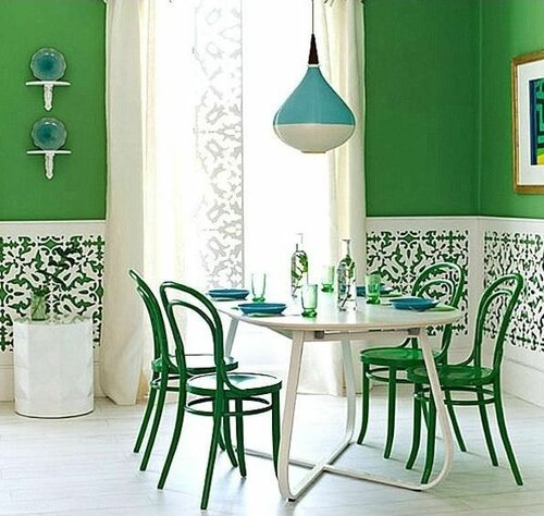 Элегантные идеи для столовой