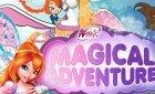 Игра Винкс волшебное приключение Блум на Пегасе